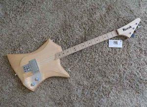 Guitars by Bill Kozak