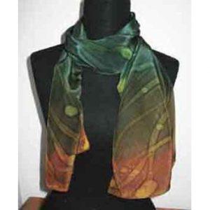 Silk Batik by Barbara Weingart