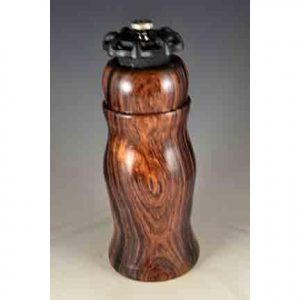 Wood turning by George and Theresa Olsen