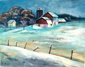 Paintings by Ruby Bishop