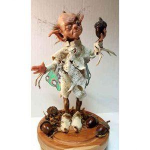 Mixed Media Sculpture by Linda Kays-Biviano