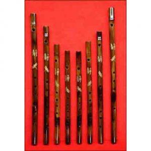 Bamboo flutes by Linda and Nick Barbadoro