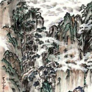 Traditional Chinese Watercolors by Zhong-Hua Lu