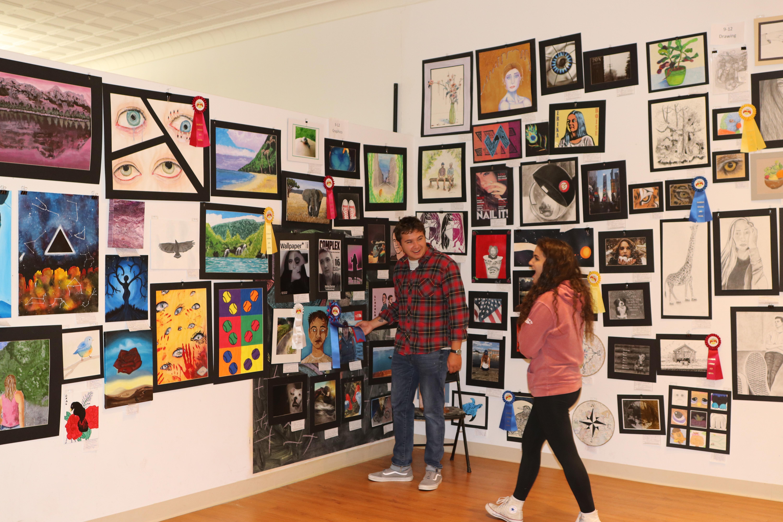Student Art Show 2018 Winners