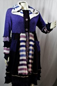 Upcycled fashion by Colleen Brown