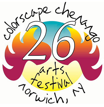 Colorscape Chenango Arts Festival 26/2020 has been moved to September 11 & 12, 2021
