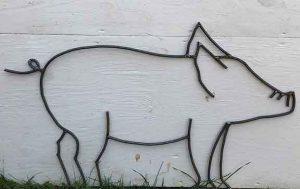 Lawn Sculpture by Parlor City Arts